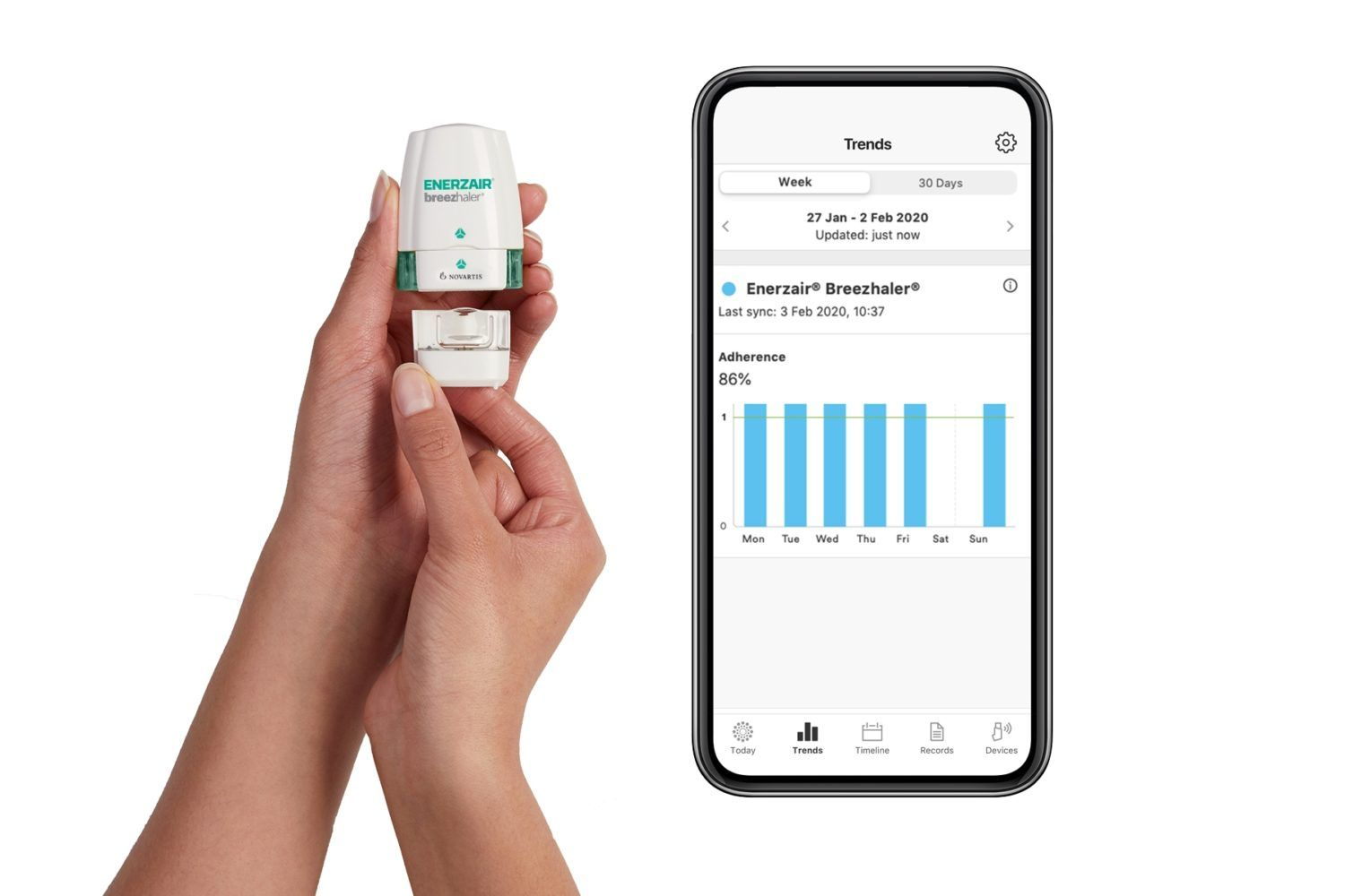 Propeller Health, Novartis Co-Package Asthma Medication in Europe for Prescription