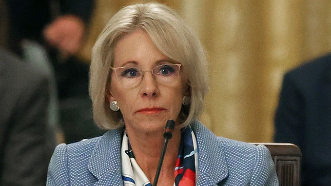 devos-says-cdc-guidelines-on-schools-reopening-meant-to-be-flexible