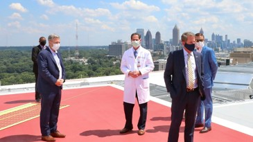 Georgia inks deal with Piedmont to boost bed capacity