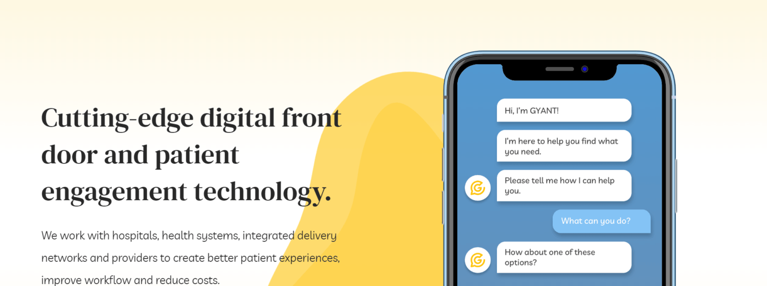 GYANT Raises $13.6M for AI-Enabled Digital Front Door Solution to Drive Patient-Doctor Engagements