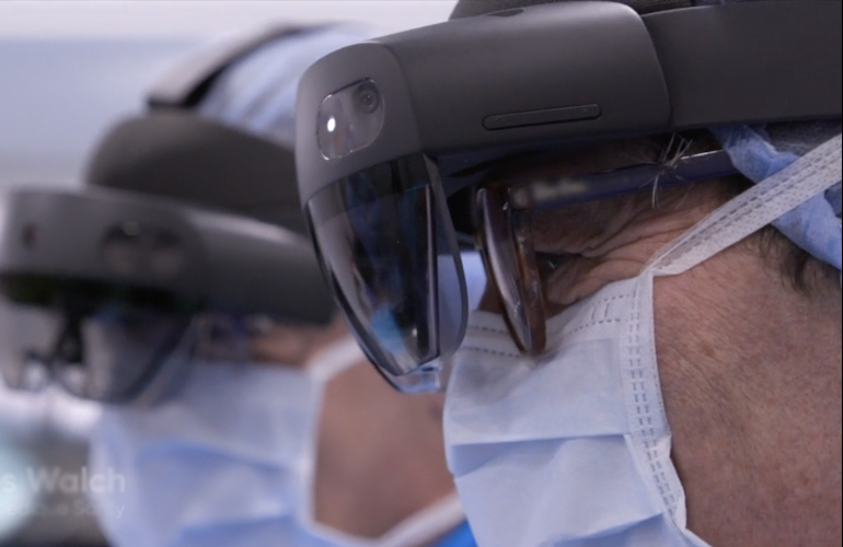Mayo Clinic Performs First Shoulder Arthroplasty Procedure Using Mixed Reality