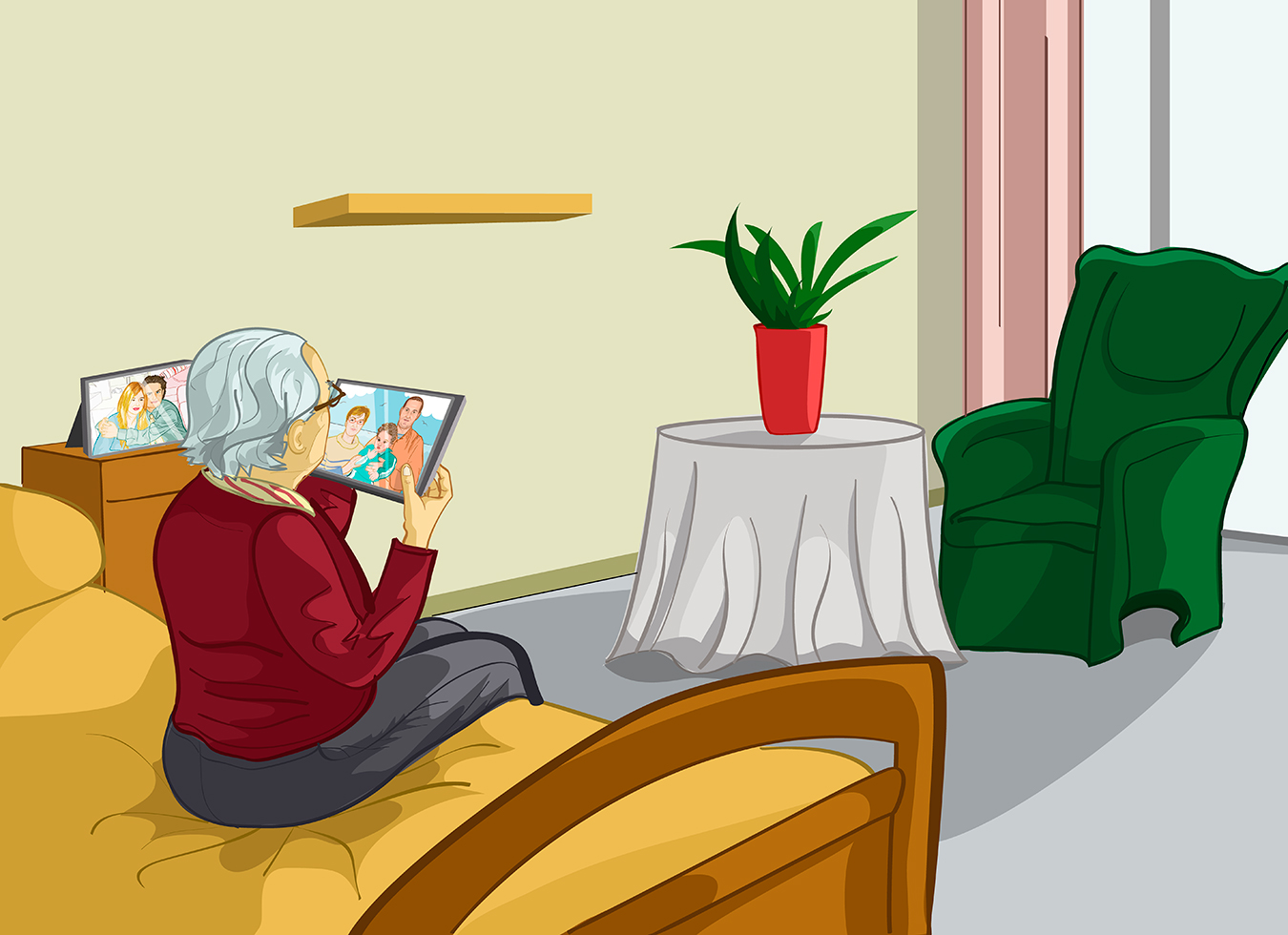 Nursing homes in 26 states allow visitors