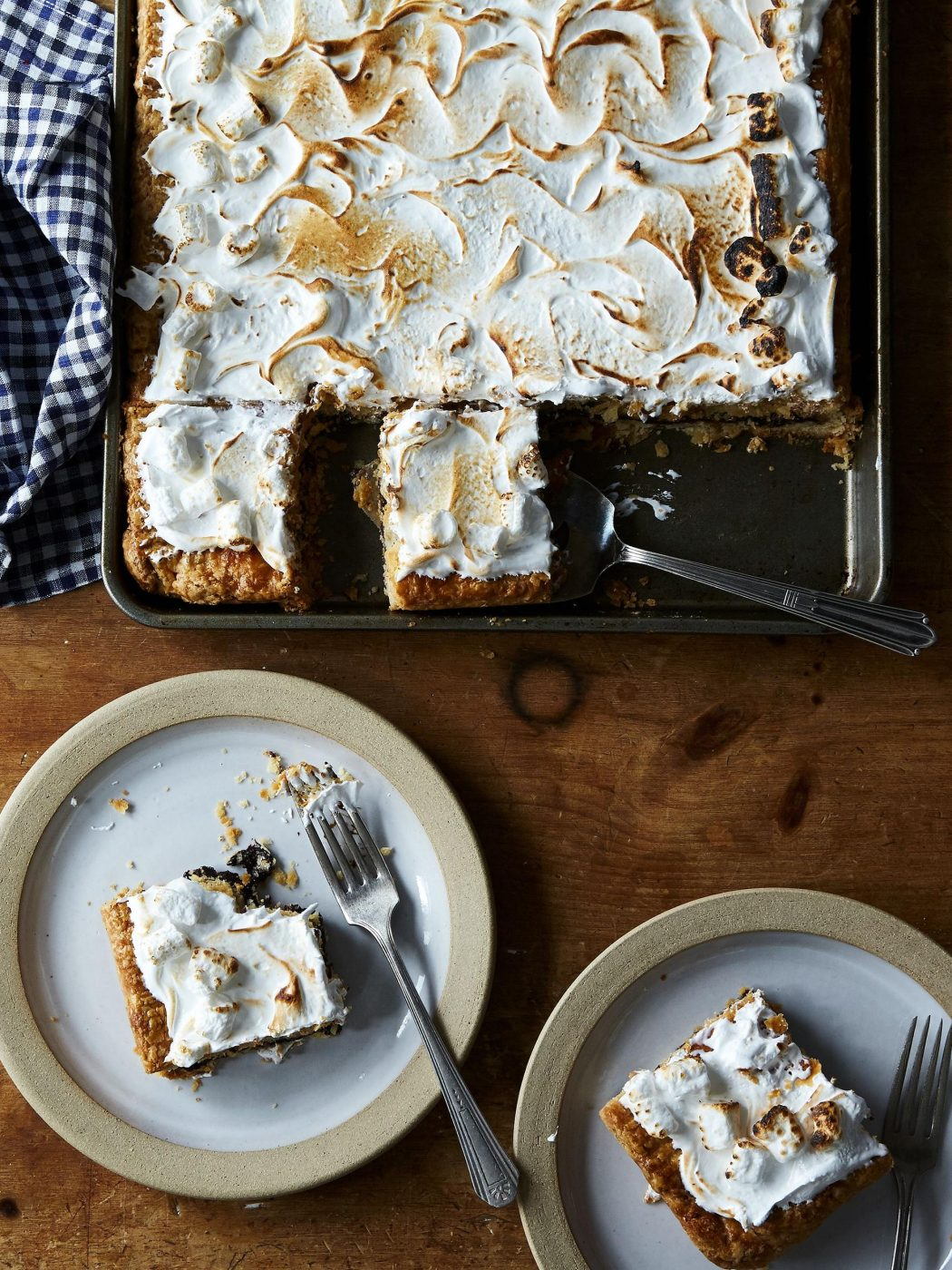The Taste of This S'mores Slab Pie Doesn't Lie