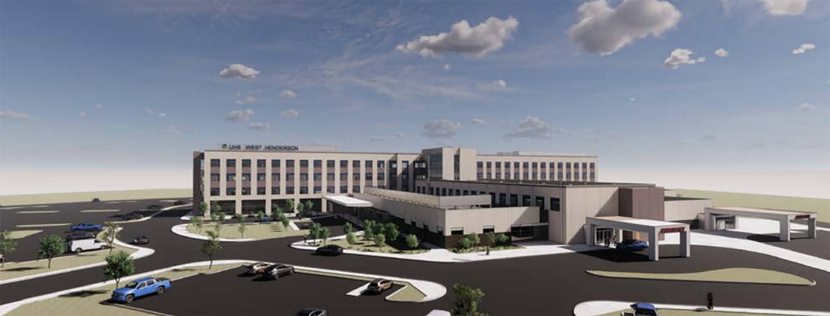 UHS plans 40-acre campus, hospital in Nevada
