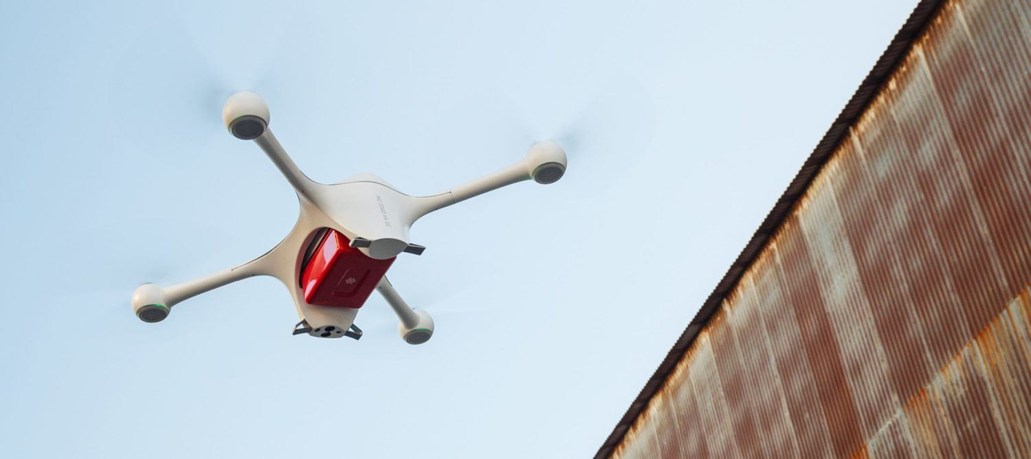 Wake Forest Baptist Health Launches Drone Delivery for Medicines, PPE for COVID-19