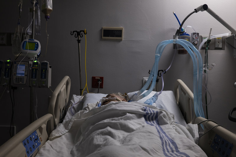 Another COVID Mystery: Patients Survive Ventilator, But Linger in a Coma