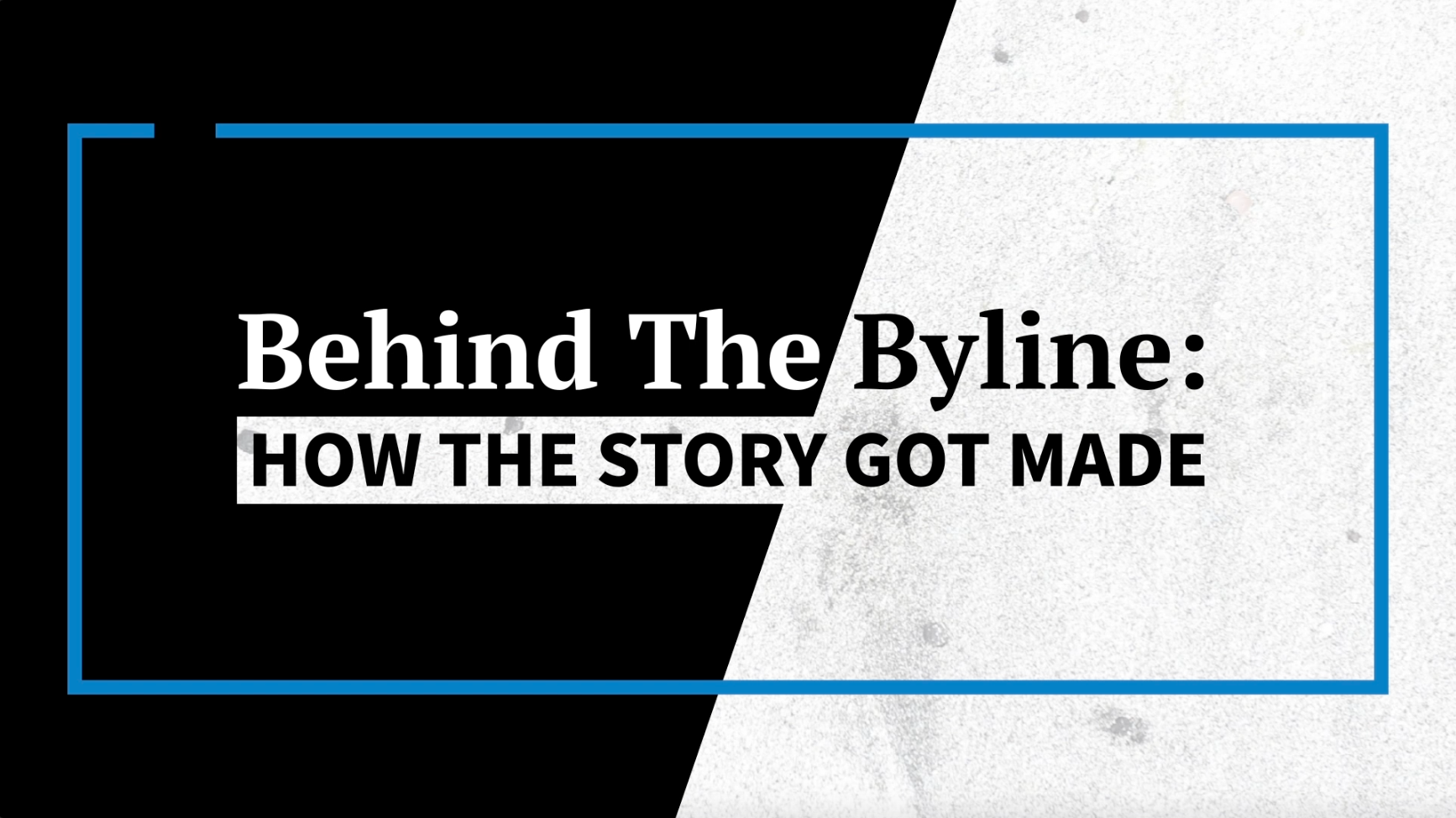 Behind the Byline: The Count — And the Toll