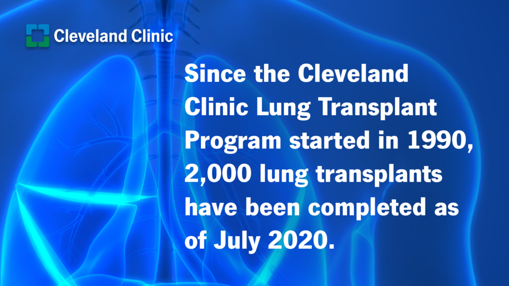 Cleveland Clinic reaches 2,000th heart transplant milestone