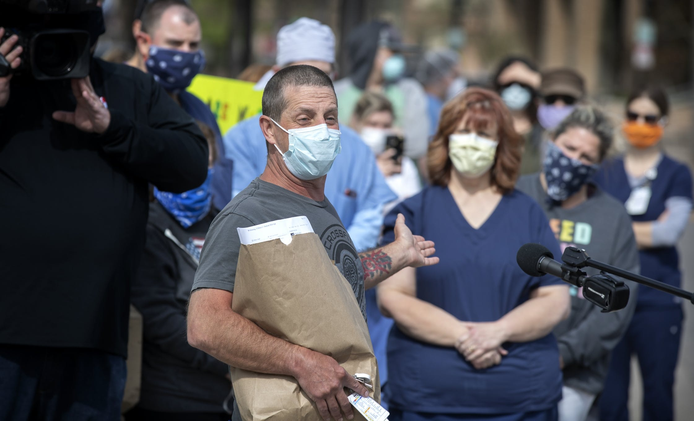Fired Minnesota nurse sues hospital, alleges he was terminated for protecting his safety