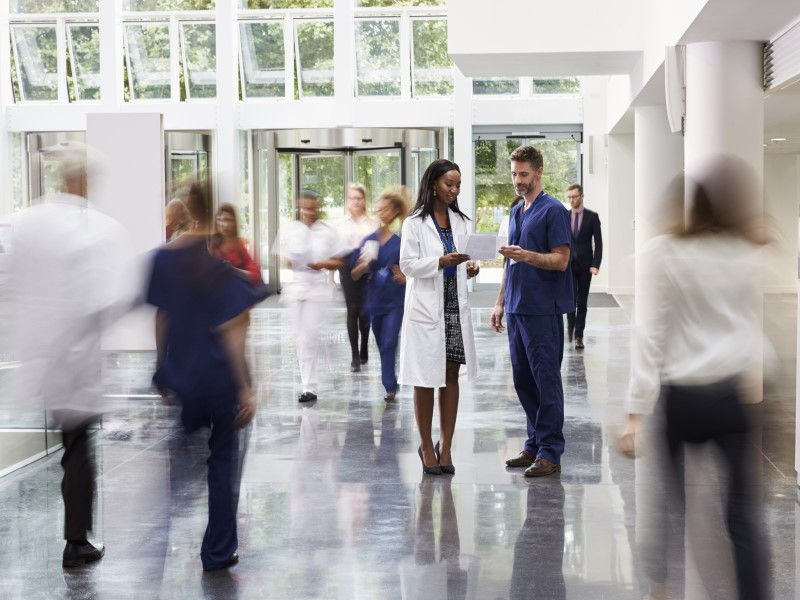 Hospitals using badges to track employee COVID-19 exposure