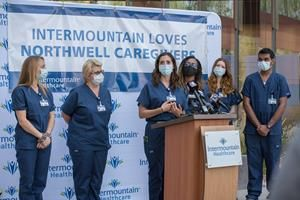 Northwell Health ICU nurses travel to Utah to assist Intermountain workers