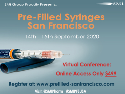 Pre-filled Syringes San Francisco will now take place as a Virtual Conference