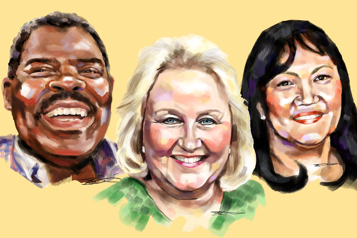 Teen Artist's Portraits Help Frame Sacrifice of Health Care Workers Lost to COVID