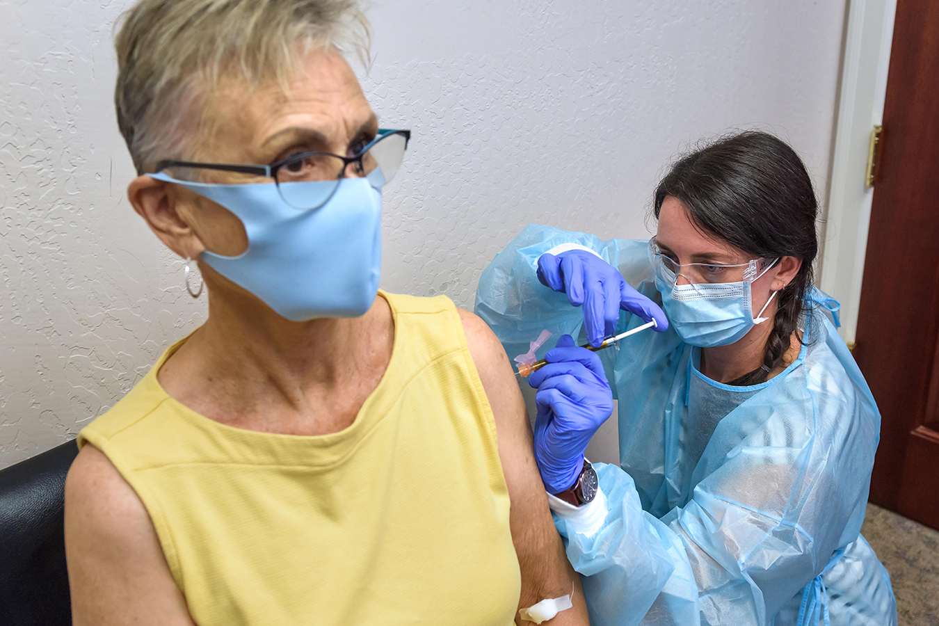 With COVID Vaccine Trial, Rural Oregon Clinic Steps Onto World Stage