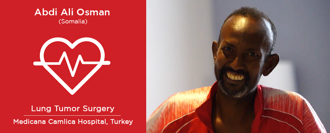 A Patient from Somalia underwent Right Lung Resection in Turkey