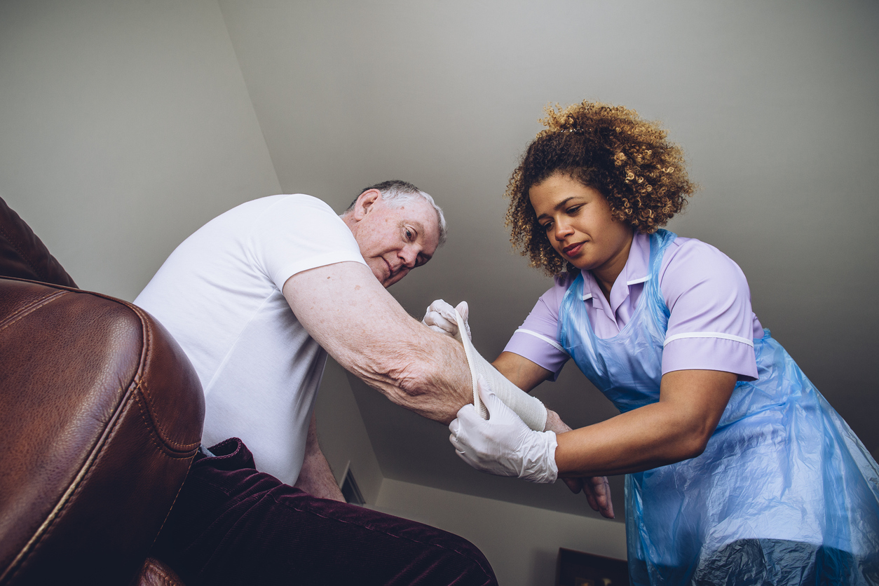 Chronic Wounds: How Self-care Can Help Speed Healing