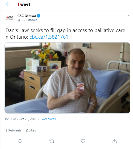 Giving thanks for Dan's Law