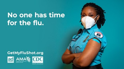 'No One Has Time for Flu': CDC, AMA team up with Ad Council to boost vaccination rates