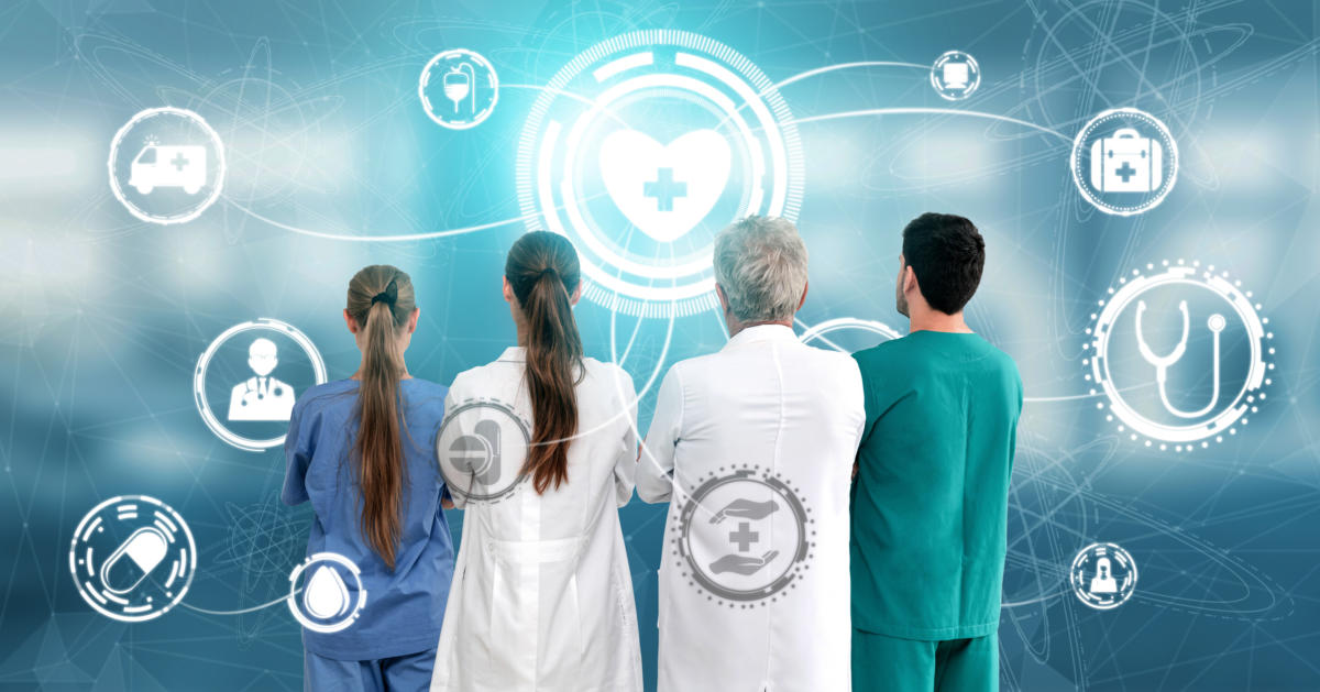 Seniors navigating healthcare technology in a post-COVID world