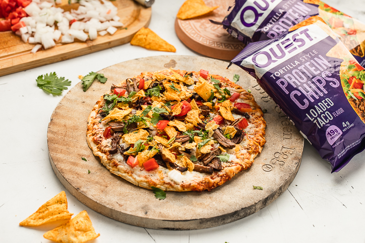 Transform Your Quest Thin Crust Pizza Into This Delicious Taco Pizza