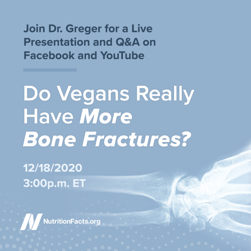 Do Vegans Really Have More Bone Fractures?
