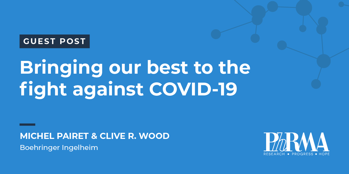 Guest Post: Bringing our best to the fight against COVID-19