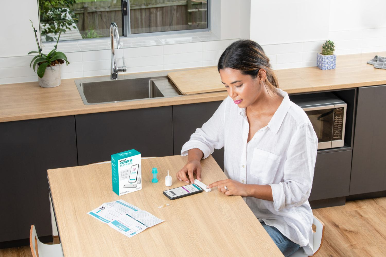 FDA Authorizes Ellume COVID-19 Home Test as First Over-the-Counter Fully At-Home Diagnostic Test