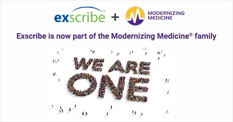 Modernizing Medicine Acquires Orthopedic EHR Platform Exscribe – M&A